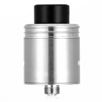 ST Version H v2 K Style RDA AtomizerRebuildable Atomizers<br>ST Version H v2 K Style RDA Atomizer<br><br>Available Color: Black,Gold,Silver<br>Material: Stainless Steel, PEEK<br>Overall Diameter: 24mm<br>Package Contents: 1 x ST Version H v2 K Style RDA, 1 x Peek Chamber, 3 x Insulated Ring, 2 x Screw, 1 x Gold-plated Pin<br>Package size (L x W x H): 7.30 x 6.10 x 3.30 cm / 2.87 x 2.4 x 1.3 inches<br>Package weight: 0.0970 kg<br>Product size (L x W x H): 2.40 x 2.40 x 3.90 cm / 0.94 x 0.94 x 1.54 inches<br>Product weight: 0.0430 kg<br>Rebuildable Atomizer: RBA,RDA<br>Thread: 510<br>Type: Rebuildable Drippers, Rebuildable Atomizer