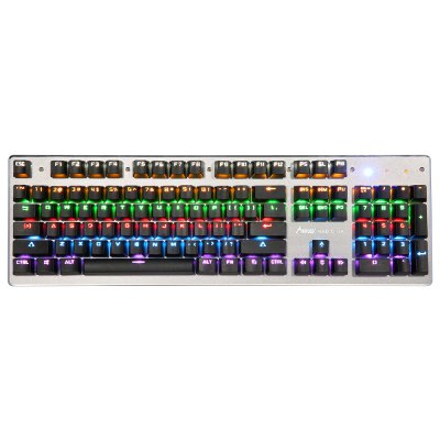 Madgiga K360 Mechanical Gaming KeyboardKeyboards<br>Madgiga K360 Mechanical Gaming Keyboard<br><br>Brand: Madgiga<br>Model: K360<br>Package Contents: 1 x Keyboard, 1 x English Instruction Manual<br>Package size (L x W x H): 50.50 x 19.50 x 5.00 cm / 19.88 x 7.68 x 1.97 inches<br>Package weight: 1.0452 kg<br>Product weight: 0.8452 kg