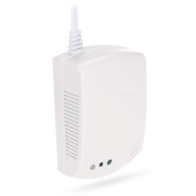 S - GD01 868MHz Wireless Gas DetectorAlarm Systems<br>S - GD01 868MHz Wireless Gas Detector<br><br>Color: White<br>Material: Plastic<br>Model: S - GD01<br>Package Contents: 1 x Wireless Gas Detector ( with 97cm EU Plug Power Cable ), 1 x English User Manual, 2 x Screw, 2 x Screw Cap<br>Package size (L x W x H): 13.00 x 15.00 x 5.50 cm / 5.12 x 5.91 x 2.17 inches<br>Package weight: 0.2310 kg<br>Product size (L x W x H): 11.50 x 4.00 x 7.00 cm / 4.53 x 1.57 x 2.76 inches<br>Product weight: 0.1680 kg