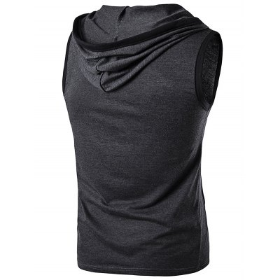 WHATLEES Sleeveless HoodieMens Short Sleeve Tees<br>WHATLEES Sleeveless Hoodie<br><br>Brand: WHATLEES<br>Material: Cotton<br>Package Content: 1 x WHATLEES Hoodie<br>Package size: 40.00 x 30.00 x 2.00 cm / 15.75 x 11.81 x 0.79 inches<br>Package weight: 0.3400 kg<br>Product weight: 0.3000 kg<br>Season: Summer<br>Size: L,M,S,XL,XXL<br>Sleeve Length: Sleeveless<br>Style: Fashion