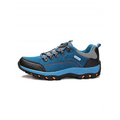 Breathable Leisure Hiking ShoesHiking Shoes<br>Breathable Leisure Hiking Shoes<br><br>Available Size: 35, 36, 37, 38, 39, 40, 41, 42, 43, 44<br>Closure Type: Lace-Up<br>Color: Black,Blue,Deep Brown,Deep yellow,Purple,Red<br>Features: Water Resistant, Sweat-absorbing, Durable, Crashworthy, Breathable, Anti-slip<br>Gender: Unisex<br>Highlights: Sweat Absorbing, Soft, Breathable<br>Package Contents: 1 x Pair of Shoes<br>Package size: 33.00 x 22.00 x 12.00 cm / 12.99 x 8.66 x 4.72 inches<br>Package weight: 1.1300 kg<br>Product weight: 0.9000 kg<br>Season: Summer, Spring, Autumn<br>Type: Hiking Shoes