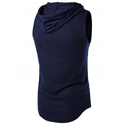 WHATLEES Sleeveless Thin HoodieMens Short Sleeve Tees<br>WHATLEES Sleeveless Thin Hoodie<br><br>Brand: WHATLEES<br>Material: Cotton<br>Package Content: 1 x WHATLEES Hoodie<br>Package size: 32.00 x 28.00 x 2.00 cm / 12.6 x 11.02 x 0.79 inches<br>Package weight: 0.3400 kg<br>Product weight: 0.3000 kg<br>Season: Summer<br>Size: L,M,S,XL,XXL<br>Sleeve Length: Sleeveless<br>Style: Sport