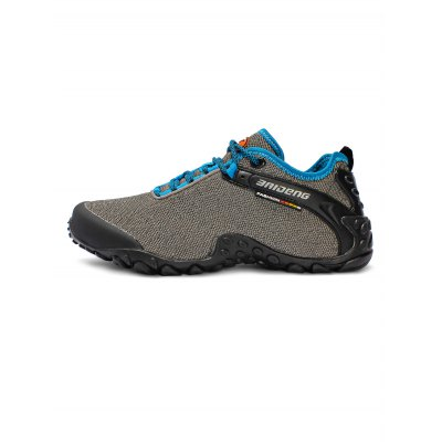 BAIDENG Mesh Hiking ShoesHiking Shoes<br>BAIDENG Mesh Hiking Shoes<br><br>Available Size: 39, 40, 41, 42, 43, 44, 45<br>Brand: BAIDENG<br>Closure Type: Lace-Up<br>Color: Gray,Khaki,Lake blue<br>Features: Sweat-absorbing, Durable, Crashworthy, Breathable, Anti-slip<br>Gender: Men<br>Highlights: Sweat Absorbing, Soft, Breathable<br>Package Contents: 1 x Pair of Shoes<br>Package size: 31.50 x 22.00 x 11.50 cm / 12.4 x 8.66 x 4.53 inches<br>Package weight: 1.0300 kg<br>Product weight: 0.8000 kg<br>Season: Spring, Autumn, Summer<br>Type: Hiking Shoes