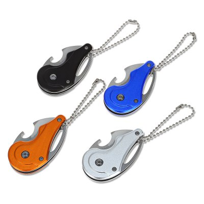 Mini Liner Lock Folding Claw Knife Bottle Opener with Key ChainPocket Knives and Folding Knives<br>Mini Liner Lock Folding Claw Knife Bottle Opener with Key Chain<br><br>Blade Edge Type: Fine<br>Blade Length: 3.5cm<br>Blade Length Range: 0.01cm-5cm<br>Blade Material: Stainless Steel<br>Blade Width : 3cm<br>Color: Colormix<br>Folding Length: 6.5cm<br>For: Home use, Camping, Adventure<br>Handle Material: Stainless Steel<br>Lock Type: Liner Lock<br>Package Contents: 1 x Mini Folding Knife<br>Package size (L x W x H): 12.00 x 17.00 x 1.00 cm / 4.72 x 6.69 x 0.39 inches<br>Package weight: 0.0660 kg<br>Product size (L x W x H): 8.50 x 3.00 x 1.00 cm / 3.35 x 1.18 x 0.39 inches<br>Product weight: 0.0510 kg<br>Type: Folding<br>Unfold Length: 8.5cm<br>Weight Range: 51g-100g