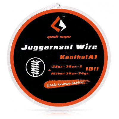 Geekvape Kanthal A1 Juggernaut Wire with 10ft