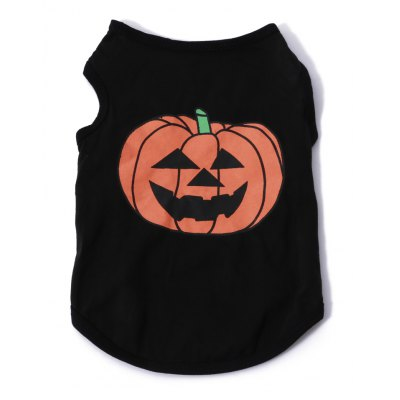 Pumpkin Cotton Pet Dog Clothes Tee