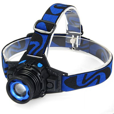Cree R5 Dimmable LED Headlamp 300Lm 3 Modes Rechargeable Bicycle Light ( Built in Battery )