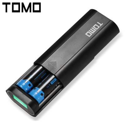TOMO V8 - 2 18650 Battery Charger