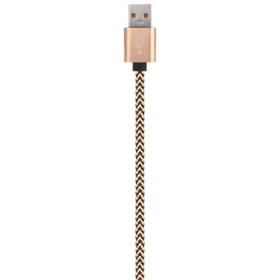 25cm Micro USB 2.0 Data CableChargers &amp; Cables<br>25cm Micro USB 2.0 Data Cable<br><br>Cable Length (cm): 25cm<br>Color: Black,Gold<br>Interface Type: Micro USB, USB 2.0<br>Material ( Cable&amp;Adapter): Aluminum Alloy, Nylon<br>Package Contents: 1 x 25cm USB Cable<br>Package size (L x W x H): 16.00 x 11.50 x 1.70 cm / 6.3 x 4.53 x 0.67 inches<br>Package weight: 0.0340 kg<br>Product size (L x W x H): 25.00 x 1.60 x 0.70 cm / 9.84 x 0.63 x 0.28 inches<br>Product weight: 0.0130 kg<br>Type: Cable