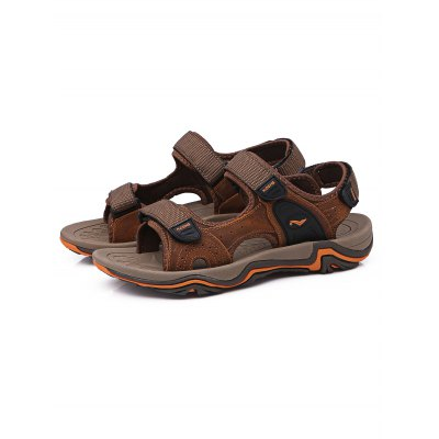 Leisure Leather Beach SandalsMens Sandals<br>Leisure Leather Beach Sandals<br><br>Color: Black Gray,Deep Brown,Light Brown<br>Contents: 1 x Pair of Shoes<br>Materials: Genuine Leather, Rubber<br>Package Size ( L x W x H ): 31.00 x 18.50 x 12.50 cm / 12.2 x 7.28 x 4.92 inches<br>Package Weights: 0.750kg<br>Size: 39,40,41,42,43,44<br>Type: Sandals