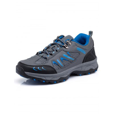 Men Breathable Hiking ShoesHiking Shoes<br>Men Breathable Hiking Shoes<br><br>Available Size: 39, 40, 41, 42, 43, 44<br>Closure Type: Lace-Up<br>Color: Army green,Dark Gray,Deep Blue<br>Features: Crashworthy, Durable, Breathable, Sweat-absorbing, Water Resistant, Anti-slip, Shock-absorbing<br>Gender: Men<br>Highlights: Breathable, Sweat Absorbing<br>Package Contents: 1 x Pair of Shoes<br>Package size: 33.00 x 22.00 x 12.00 cm / 12.99 x 8.66 x 4.72 inches<br>Package weight: 1.3300 kg<br>Product weight: 1.1000 kg<br>Season: Winter, Summer, Spring, Autumn<br>Type: Hiking Shoes