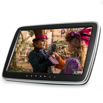 1017E 9.0 inch Car Headrest Multi-media MP5 PlayerCar DVD Player<br>1017E 9.0 inch Car Headrest Multi-media MP5 Player<br><br>Installation Site: Headrest<br>Media Format: MP4, MP3, MOV, FLV, AVI, ASF, MPEG2, MPG, RMVB, VOB, MPEG1<br>Model: 1017E<br>OSD Language: Chinese,English,etc,French,German,Italian,Japanse,Spanish<br>Package Contents: 1 x Car Media Player, 1 x Remote Controller, 1 x Bracket, 1 x Metal Holder, 1 x Big Screw, 2 x Small Screw, 8 x Installation Accessory, 1 x Chinese / English User Manual<br>Package size (L x W x H): 33.50 x 20.50 x 9.20 cm / 13.19 x 8.07 x 3.62 inches<br>Package weight: 1.2110 kg<br>Pre-loaded Maps: No<br>Product size (L x W x H): 24.00 x 16.00 x 2.00 cm / 9.45 x 6.3 x 0.79 inches<br>Product weight: 0.5250 kg<br>Screen resolution: 800 x 480<br>Screen size: 9inch<br>Screen type: Digital touch screen