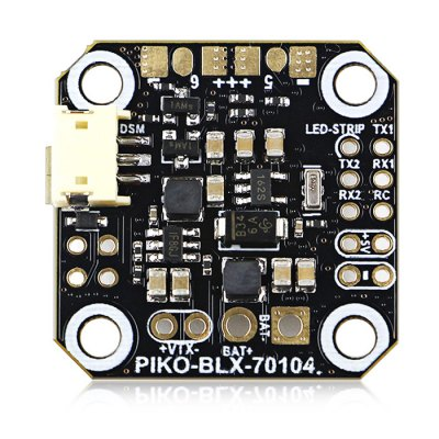 KingKong PIKO BLX Micro F3 Flight ControllerFlight Controller<br>KingKong PIKO BLX Micro F3 Flight Controller<br><br>Brand: KingKong<br>Flight Controller Type: F3<br>Package Contents: 1 x Flight Controller, 1 x Pack of Accessories<br>Package size (L x W x H): 13.00 x 9.00 x 1.75 cm / 5.12 x 3.54 x 0.69 inches<br>Package weight: 0.0290 kg<br>Product size (L x W x H): 2.70 x 2.70 x 0.75 cm / 1.06 x 1.06 x 0.3 inches<br>Product weight: 0.0027 kg<br>Type: Flight Controller