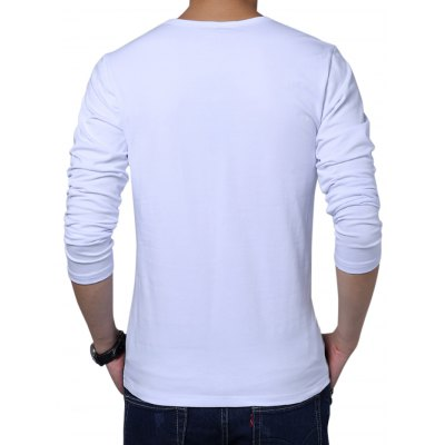 Long Sleeve Color Block Men T-shirtMens Short Sleeve Tees<br>Long Sleeve Color Block Men T-shirt<br><br>Fabric Type: Cotton<br>Material: Broadcloth<br>Neckline: Round Neck<br>Package Content: 1 x T-shirt<br>Package size: 40.00 x 30.00 x 2.00 cm / 15.75 x 11.81 x 0.79 inches<br>Package weight: 0.3000 kg<br>Product weight: 0.2800 kg<br>Season: Spring, Autumn<br>Sleeve Length: Long Sleeves<br>Style: Casual