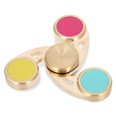 Colorful ADHD Fidget SpinnerFidget Spinners<br>Colorful ADHD Fidget Spinner<br><br>Center Bearing Material: Stainless Steel Bearing<br>Color: Colorful<br>Features: CNC Build<br>Frame material: Copper<br>Package Contents: 1 x Spinner, 1 x Box<br>Package size (L x W x H): 10.00 x 10.00 x 4.50 cm / 3.94 x 3.94 x 1.77 inches<br>Package weight: 0.2000 kg<br>Product size (L x W x H): 7.00 x 7.00 x 1.50 cm / 2.76 x 2.76 x 0.59 inches<br>Product weight: 0.1630 kg<br>Swing Numbers: Tri-Bar<br>Type: Fire Wheel, Triple Blade