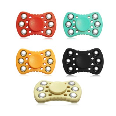 ABS ADHD Fidget SpinnerFidget Spinners<br>ABS ADHD Fidget Spinner<br><br>Center Bearing Material: Stainless Steel Bearing<br>Center Bearing Model: R188<br>Frame material: ABS<br>Package Contents: 1 x Gyro<br>Package size (L x W x H): 7.00 x 10.00 x 7.50 cm / 2.76 x 3.94 x 2.95 inches<br>Package weight: 0.0750 kg<br>Product size (L x W x H): 5.50 x 3.50 x 1.30 cm / 2.17 x 1.38 x 0.51 inches<br>Product weight: 0.0500 kg<br>Swing Numbers: 2<br>Type: Dual Blade, Steel Ball