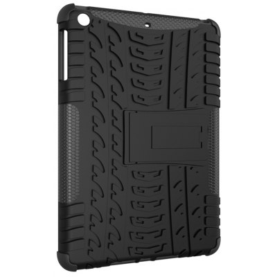 Double-protection Back Case with Bracket for iPad mini 1 / 2 / 3