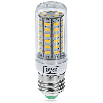 E27 18W 56 SMD-5630 110V 1650Lm Warm White Corn Light