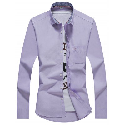Slim Fit Long Sleeve Shirts