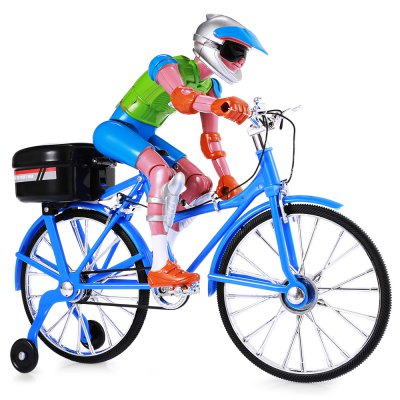 Electronic music walking bicycle toy for kid