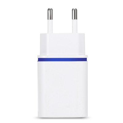 2 USB LED Sparkle Power AdapterChargers &amp; Cables<br>2 USB LED Sparkle Power Adapter<br><br>Color: White<br>Input: 100 - 240V, 50 / 60Hz, 0.15A<br>Material ( Cable&amp;Adapter): ABS<br>Output: 5V 2.1A ( max )<br>Package Contents: 1 x Charger Adapter<br>Package size (L x W x H): 14.00 x 9.00 x 3.45 cm / 5.51 x 3.54 x 1.36 inches<br>Package weight: 0.0490 kg<br>Plug: EU plug<br>Product size (L x W x H): 7.80 x 3.60 x 2.45 cm / 3.07 x 1.42 x 0.96 inches<br>Product weight: 0.0270 kg<br>Type: Adapters