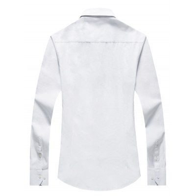 Slim Fit Long Sleeve ShirtsMens Shirts<br>Slim Fit Long Sleeve Shirts<br><br>Material: Linen<br>Package Contents: 1 x Shirt<br>Package size: 40.00 x 30.00 x 2.00 cm / 15.75 x 11.81 x 0.79 inches<br>Package weight: 0.3400 kg<br>Product weight: 0.3000 kg