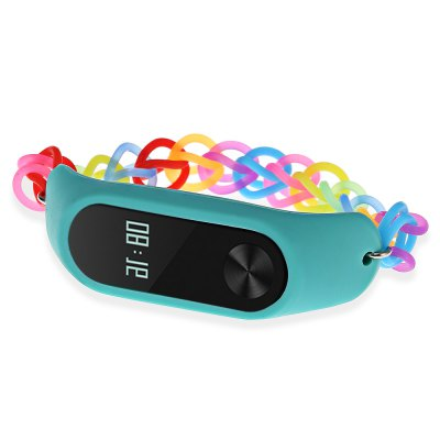 Rainbow Rubber Band for Xiaomi Mi Band 2