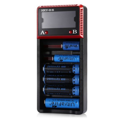 HXY - H6 LCD Battery Charger