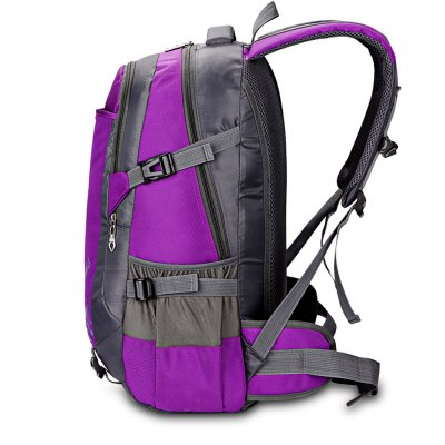 HONGJING 1031 Nylon 35L Mountaineering BackpackBackpacks<br>HONGJING 1031 Nylon 35L Mountaineering Backpack<br><br>Bag Capacity: 35L<br>Brand: HONGJING<br>Capacity: 31 - 40L<br>Features: Laptop Bag, Ultra Light, Water Resistance<br>For: Camping, Climbing, Traveling<br>Gender: Unisex<br>Material: Nylon<br>Package Contents: 1 x HONGJING 1031 Backpack<br>Package size (L x W x H): 34.00 x 10.00 x 30.00 cm / 13.39 x 3.94 x 11.81 inches<br>Package weight: 0.9400 kg<br>Product size (L x W x H): 33.00 x 20.00 x 55.00 cm / 12.99 x 7.87 x 21.65 inches<br>Product weight: 0.8000 kg<br>Strap Length: 45 - 80cm<br>Style: Fashion<br>Type: Backpack