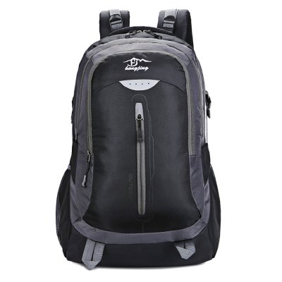 HONGJING 1043 Nylon 38L Camping Mountaineering BackpackBackpacks<br>HONGJING 1043 Nylon 38L Camping Mountaineering Backpack<br><br>Bag Capacity: 38L<br>Brand: HONGJING<br>Capacity: 31 - 40L<br>Features: Laptop Bag, Ultra Light, Water Resistance<br>For: Camping, Climbing, Traveling<br>Gender: Unisex<br>Material: Nylon<br>Package Contents: 1 x HONGJING 1043 Backpack<br>Package size (L x W x H): 33.00 x 10.00 x 31.00 cm / 12.99 x 3.94 x 12.2 inches<br>Package weight: 0.9400 kg<br>Product size (L x W x H): 32.00 x 21.00 x 57.00 cm / 12.6 x 8.27 x 22.44 inches<br>Product weight: 0.8000 kg<br>Strap Length: 45 - 85cm<br>Style: Fashion<br>Type: Backpack