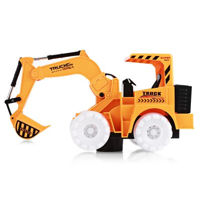 Flashing Wheel Musical Excavator Kid ToyOther Educational Toys<br>Flashing Wheel Musical Excavator Kid Toy<br><br>Completeness: Finished Goods<br>Gender: Unisex<br>Materials: Electronic Components, Plastic<br>Package Contents: 1 x Machine Toy<br>Package size: 29.00 x 13.00 x 18.00 cm / 11.42 x 5.12 x 7.09 inches<br>Package weight: 0.4400 kg<br>Product size: 28.00 x 11.00 x 15.00 cm / 11.02 x 4.33 x 5.91 inches<br>Product weight: 0.2750 kg<br>Stem From: China<br>Theme: Music,Other