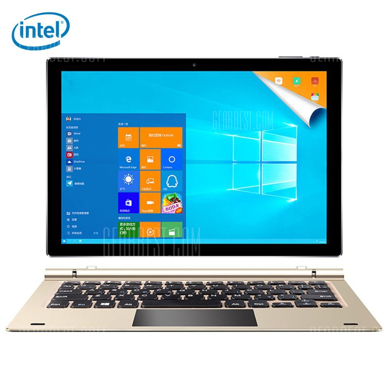 Teclast Tbook 10 S 2 1 Tablet PC CHAMPAGNE GOLD