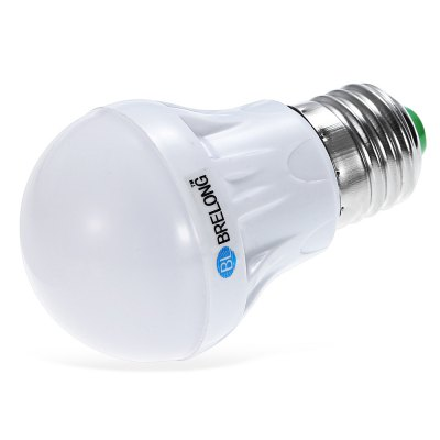 BRELONG E27 LED Bulb Light + Voice ControlGlobe bulbs<br>BRELONG E27 LED Bulb Light + Voice Control<br><br>Available Light Color: White,Warm White<br>Brand: BRELONG<br>CCT/Wavelength: 3000-3500K,6000-6500K<br>Emitter Types: SMD 2835<br>Features: Light Operated, Long Life Expectancy, Sound-Activated, Low Power Consumption<br>Function: Studio and Exhibition Lighting, Home Lighting, Commercial Lighting<br>Holder: E27<br>Luminous Flux: 250Lm<br>Output Power: 3W<br>Package Contents: 1 x BRELONG E27 LED Light Bulb<br>Package size (L x W x H): 6.00 x 6.00 x 10.00 cm / 2.36 x 2.36 x 3.94 inches<br>Package weight: 0.0900 kg<br>Product size (L x W x H): 4.80 x 4.80 x 8.60 cm / 1.89 x 1.89 x 3.39 inches<br>Sheathing Material: Plastic<br>Total Emitters: 10<br>Type: Ball Bulbs<br>Voltage (V): AC 220-240