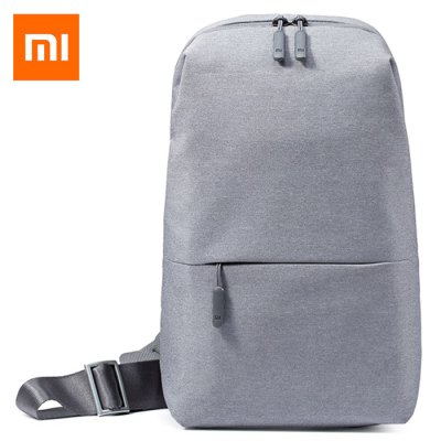 Gearbest Original Xiaomi Sling Bag - LIGHT GRAY