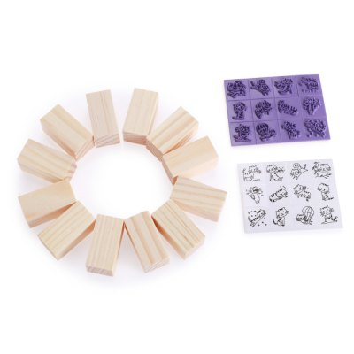 12PCS DIY Stamp Seal Cat ShapeStamps &amp; Bookmarks<br>12PCS DIY Stamp Seal Cat Shape<br><br>Color: Purple<br>Material: Wooden<br>Package Contents: 1 x Set of Stamp ( 12 in 1 )<br>Package size (L x W x H): 8.00 x 6.70 x 4.80 cm / 3.15 x 2.64 x 1.89 inches<br>Package weight: 0.0870 kg<br>Product size (L x W x H): 7.00 x 5.70 x 3.80 cm / 2.76 x 2.24 x 1.5 inches<br>Product weight: 0.0650 kg