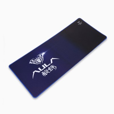 AULA Long Rectangle Mouse Pad PC Mat Computer SupplyMouse<br>AULA Long Rectangle Mouse Pad PC Mat Computer Supply<br><br>Brand: AULA<br>Color: Blue<br>Features: Gaming<br>Material: Rubber<br>Package Contents: 1 x AULA Gaming Mouse Pad<br>Package size (L x W x H): 71.00 x 31.00 x 2.00 cm / 27.95 x 12.2 x 0.79 inches<br>Package weight: 0.4450 kg<br>Product size (L x W x H): 70.00 x 30.00 x 0.30 cm / 27.56 x 11.81 x 0.12 inches<br>Product weight: 0.4100 kg<br>Type: Mouse Pad