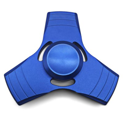 Aluminum Alloy Tri Fidget Spinner Stress Reliever Toy for Adult