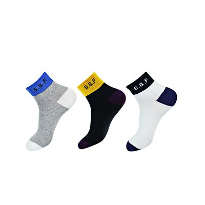 STARFROM 3 Pairs Unisex Cotton Socks for Sports