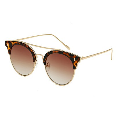 SENLAN Trendy Round Sunglasses with Colored Lens