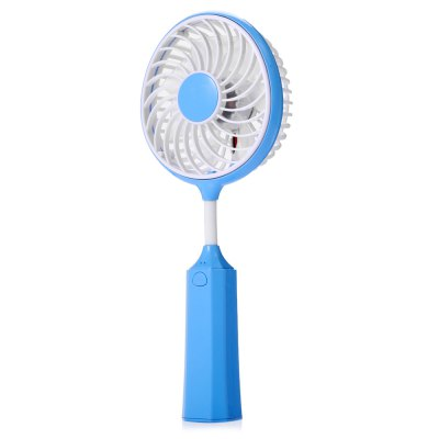 Battledore Style Mini Handheld Portable Electric Fan