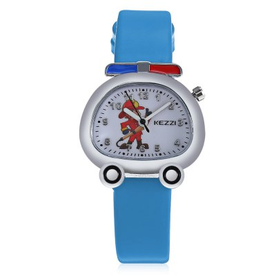 KEZZI K - 1609 Fire Truck Shaped Dial Kid Quartz WatchKids Watches<br>KEZZI K - 1609 Fire Truck Shaped Dial Kid Quartz Watch<br><br>Band material: PU<br>Band size: 20.8 x 1.4 cm / 8.19 x 0.55 inches<br>Brand: Kezzi<br>Case material: Alloy<br>Clasp type: Pin buckle<br>Dial size: 3 x 2.3 x 0.8 cm / 1.18 x 0.91 x 0.31 inches<br>Display type: Analog<br>Movement type: Quartz watch<br>Package Contents: 1 x KEZZI K - 1609 Kid Quartz Watch<br>Package size (L x W x H): 21.80 x 4.00 x 1.80 cm / 8.58 x 1.57 x 0.71 inches<br>Package weight: 0.0600 kg<br>Product size (L x W x H): 20.80 x 3.00 x 0.80 cm / 8.19 x 1.18 x 0.31 inches<br>Product weight: 0.0200 kg<br>Shape of the dial: Irregular<br>Watch color: Black, White, Light Blue, Deep Blue<br>Watch style: Fashion, Lovely<br>Watches categories: Children table<br>Wearable length: 14.5 - 18.7 cm / 5.71 - 7.36 inches