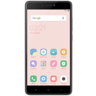 Xiaomi Redmi Note 4 4G PhabletCell phones<br>Xiaomi Redmi Note 4 4G Phablet<br><br>2G: GSM B2/B3/B5/B8<br>3G: WCDMA B1/B2/B5/B8<br>4G: FDD-LTE B1/3/4/5/7/8/20<br>Additional Features: Fingerprint recognition, Calendar, Calculator, Browser, Alarm, 4G, 3G, Fingerprint Unlocking, Bluetooth, Wi-Fi, Proximity Sensing, MP4, MP3, Gravity Sensing, GPS<br>Auto Focus: Yes<br>Back camera: with flash light and AF, 13.0MP<br>Battery Capacity (mAh): 4100mAh<br>Battery Type: Non-removable, Lithium-ion Polymer Battery<br>Bluetooth Version: Bluetooth V4.2<br>Brand: Xiaomi<br>Camera Functions: HDR, Panorama Shot, Face Detection<br>Camera type: Dual cameras (one front one back)<br>Cell Phone: 1<br>Cores: 2.0GHz, Octa Core<br>CPU: Qualcomm Snapdragon 625 (MSM8953)<br>External Memory: TF card up to 128GB (not included)<br>Flashlight: Yes<br>Front camera: 5.0MP<br>Games: Android APK<br>GPU: Adreno 506<br>I/O Interface: 1 x Micro SIM Card Slot, 3.5mm Audio Out Port, 1 x Nano SIM Card Slot, TF/Micro SD Card Slot<br>Language: Indonesian, Malay, German, English, Spanish, French, Italian, Hungarian, Uzbek, Polish, Portuguese, Romanian, Slovenian, Vietnamese, Turkish, Czech, Russian, Ukrainian, Greek, Hindi, Marathi, Bengali,<br>Music format: AAC, MP3<br>Network type: GSM+WCDMA+FDD-LTE+TD-LTE<br>OS: MIUI 8<br>Package size: 17.20 x 9.80 x 5.00 cm / 6.77 x 3.86 x 1.97 inches<br>Package weight: 0.3850 kg<br>Picture format: GIF, BMP, JPEG, PNG<br>Pixels Per Inch (PPI): 401<br>Power Adapter: 1<br>Product size: 15.10 x 7.60 x 0.84 cm / 5.94 x 2.99 x 0.33 inches<br>Product weight: 0.1730 kg<br>RAM: 3GB RAM<br>ROM: 32GB<br>Screen resolution: 1920 x 1080 (FHD)<br>Screen size: 5.5 inch<br>Screen type: 2.5D Arc Screen<br>Sensor: Accelerometer,Ambient Light Sensor,E-Compass,Gravity Sensor,Proximity Sensor<br>Service Provider: Unlocked<br>SIM Card Slot: Dual Standby, Dual SIM<br>SIM Card Type: Micro SIM Card, Nano SIM Card<br>SIM Needle: 1<br>TDD/TD-LTE: TD-LTE B38/B40<br>Touch Focus: Yes<br>Type: 4G Phable