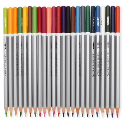 DELI 6521 Color Water Soluble Pencil