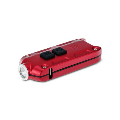 Nitecore TIP LED Keychain LightLED Flashlights<br>Nitecore TIP LED Keychain Light<br><br>Battery Quantity: Built-in 3.7V 500mAh rechargeable Li-ion battery<br>Battery Type: Li-ion<br>Beam Distance: 50-100m<br>Brand: Nitecore<br>Color Temperature: 6500K (Cree XP-G2 S3) / 3500K (Nichia NVSL219B)<br>Emitters: Nichia NVSL219B, Cree XP-G2 S3<br>Emitters Quantity: 1<br>Feature: Power Indicator, Lock-out Function, Lightweight, ATR (Advanced Temperature Regulation) Technology<br>Flashlight Processing Technology: Aerospace Grade Aluminum Body with Anti Scratching Type III Hard Anodization<br>Function: Walking, Night Riding, Household Use, Hiking, EDC, Camping<br>Impact Resistance: 1.5M<br>Lumens Range: 200-500Lumens<br>Luminous Flux: 360LM (Cree XP-G2 S3) / 220LM (Nichia NVSL219B)<br>Max.: 46h<br>Mode: 4 (Turbo; High; Mid; Moonlight)<br>Mode Memory: Yes<br>Model: TIP<br>Package Contents: 1 x Nitecore TIP LED Flashlight, 1 x Keyring<br>Package size (L x W x H): 8.00 x 5.00 x 3.00 cm / 3.15 x 1.97 x 1.18 inches<br>Package weight: 0.080 kg<br>Power Source: Battery<br>Product size (L x W x H): 6.08 x 2.45 x 1.35 cm / 2.39 x 0.96 x 0.53 inches<br>Product weight: 0.024 kg<br>Rechargeable: Yes<br>Switch Location: Side Switch<br>Waterproof Standard: IP54