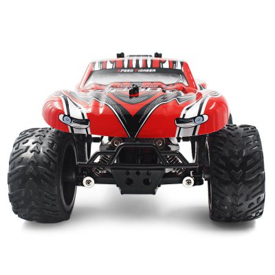 QIJUN 1816 - 4 1:16 RC Car - RTRRC Cars<br>QIJUN 1816 - 4 1:16 RC Car - RTR<br><br>Age: Above 8 years old<br>Brand: QIJUN<br>Car Power: Built-in rechargeable battery<br>Channel: 4-Channels<br>Detailed Control Distance: 80~100m<br>Drive Type: Other<br>Features: Radio Control<br>Motor Type: Brushed Motor<br>Package Contents: 1 x RC Car ( Battery Included ), 1 x Transmitter, 1 x USB Cable<br>Package size (L x W x H): 30.80 x 18.00 x 12.70 cm / 12.13 x 7.09 x 5 inches<br>Package weight: 1.3100 kg<br>Product size (L x W x H): 25.00 x 17.00 x 9.00 cm / 9.84 x 6.69 x 3.54 inches<br>Product weight: 1.1700 kg<br>Proportion: 1:16<br>Remote Control: 2.4GHz Wireless Remote Control<br>Transmitter Power: 3 x 1.5V AA battery (not included)<br>Type: High-speed Car