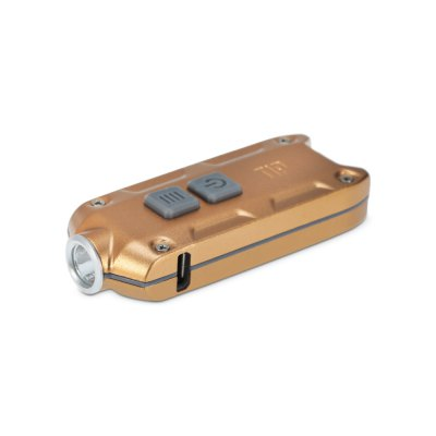 Nitecore TIP LED Keychain LightLED Flashlights<br>Nitecore TIP LED Keychain Light<br><br>Battery Quantity: Built-in 3.7V 500mAh rechargeable Li-ion battery<br>Battery Type: Li-ion<br>Beam Distance: 50-100m<br>Brand: Nitecore<br>Color Temperature: 6500K (Cree XP-G2 S3) / 3500K (Nichia NVSL219B)<br>Emitters: Nichia NVSL219B, Cree XP-G2 S3<br>Emitters Quantity: 1<br>Feature: Power Indicator, Lock-out Function, Lightweight, ATR (Advanced Temperature Regulation) Technology<br>Flashlight Processing Technology: Aerospace Grade Aluminum Body with Anti Scratching Type III Hard Anodization<br>Function: Walking, Night Riding, Household Use, Hiking, Camping, EDC<br>Impact Resistance: 1.5M<br>Lumens Range: 200-500Lumens<br>Luminous Flux: 360LM (Cree XP-G2 S3) / 220LM (Nichia NVSL219B)<br>Max.: 46h<br>Mode: 4 (Turbo; High; Mid; Moonlight)<br>Mode Memory: Yes<br>Model: TIP<br>Package Contents: 1 x Nitecore TIP LED Flashlight, 1 x Keyring<br>Package size (L x W x H): 8.00 x 5.00 x 3.00 cm / 3.15 x 1.97 x 1.18 inches<br>Package weight: 0.080 kg<br>Power Source: Battery<br>Product size (L x W x H): 6.08 x 2.45 x 1.35 cm / 2.39 x 0.96 x 0.53 inches<br>Product weight: 0.024 kg<br>Rechargeable: Yes<br>Switch Location: Side Switch<br>Waterproof Standard: IP54