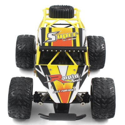 QIJUN 1816 - 5 1:16 RC Car - RTRRC Cars<br>QIJUN 1816 - 5 1:16 RC Car - RTR<br><br>Age: Above 8 years old<br>Brand: QIJUN<br>Car Power: Built-in rechargeable battery<br>Channel: 4-Channels<br>Detailed Control Distance: 80~100m<br>Drive Type: Other<br>Features: Radio Control<br>Motor Type: Brushed Motor<br>Package Contents: 1 x RC Car ( Battery Included ), 1 x Transmitter, 1 x USB Cable<br>Package size (L x W x H): 30.80 x 18.00 x 12.70 cm / 12.13 x 7.09 x 5 inches<br>Package weight: 1.3100 kg<br>Product size (L x W x H): 25.00 x 17.00 x 9.00 cm / 9.84 x 6.69 x 3.54 inches<br>Product weight: 1.1700 kg<br>Proportion: 1:16<br>Racing Time: About 25mins<br>Remote Control: 2.4GHz Wireless Remote Control<br>Transmitter Power: 3 x 1.5V AA battery (not included)<br>Type: High-speed Car