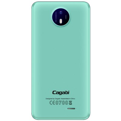 Cagabi One 3G SmartphoneCell phones<br>Cagabi One 3G Smartphone<br><br>2G: GSM 850/900/1800/1900MHz<br>3G: WCDMA 850/1900/2100MHz<br>Additional Features: 3G, Alarm, Bluetooth, Browser, Calculator, Calendar, FM, People, GPS, Gravity Sensing, MP3, MP4, Wi-Fi<br>Back Case : 1<br>Back-camera: 8.0MP<br>Battery Capacity (mAh): 1 x 2200mAh<br>Bluetooth Version: V4.0<br>Brand: Cagabi<br>Camera type: Dual cameras (one front one back)<br>Cell Phone: 1<br>Cores: 1.3GHz, Quad Core<br>CPU: MTK6580A<br>English Manual : 1<br>External Memory: TF card up to 32GB (not included)<br>Flashlight: Yes<br>Front camera: 5.0MP<br>Games: Android APK<br>I/O Interface: TF/Micro SD Card Slot, Micophone, 3.5mm Audio Out Port, 2 x Micro SIM Card Slot, Micro USB Slot, Speaker<br>Language: English, Spanish, Portuguese, Italian, German,  French, Russian, Arabic, Malay, Thai, Greek, Ukrainian, Croatian, Czech, Simplified Chinese, Traditional Chinese etc.<br>Music format: OGG, AAC, MP3, WAV<br>Network type: GSM+WCDMA<br>OS: Android 6.0<br>OTA: Yes<br>Package size: 17.50 x 11.00 x 6.50 cm / 6.89 x 4.33 x 2.56 inches<br>Package weight: 0.3585 kg<br>Picture format: BMP, GIF, PNG, JPEG<br>Power Adapter: 1<br>Product size: 14.40 x 7.15 x 0.89 cm / 5.67 x 2.81 x 0.35 inches<br>Product weight: 0.1234 kg<br>RAM: 1GB RAM<br>ROM: 8GB<br>Screen Protector: 1<br>Screen resolution: 1280 x 720 (HD 720)<br>Screen size: 5.0 inch<br>Screen type: 2.5D Arc Screen, IPS<br>Sensor: Gravity Sensor<br>Service Provider: Unlocked<br>SIM Card Slot: Dual Standby, Dual SIM<br>SIM Card Type: Micro SIM Card<br>Type: 3G Smartphone<br>USB Cable: 1<br>Video format: MP4, AVI, 3GP<br>WIFI: 802.11b/g/n wireless internet<br>Wireless Connectivity: A-GPS, WiFi, GSM, 3G, GPS, Bluetooth 4.0