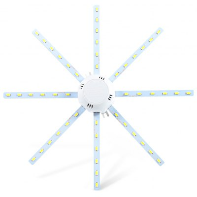 24W 1920Lm SMD 5730 Octagonal LED Ceiling Lamp Fixture
