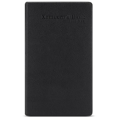 Classical PU Leather Namecard Holder for 300PCS Cards